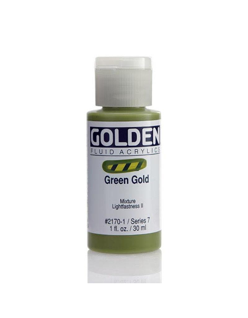 Golden Fluid Green Gold  1Oz
