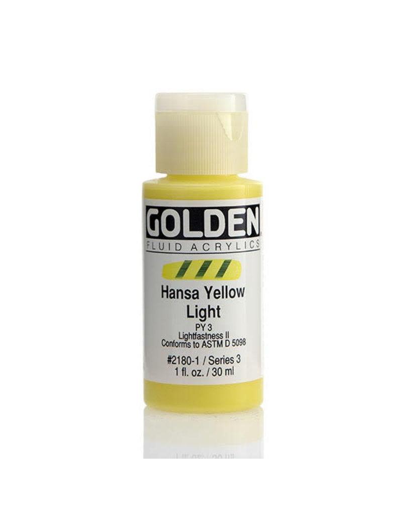 Golden Fluid Hansa Yellow Lt.  1Oz