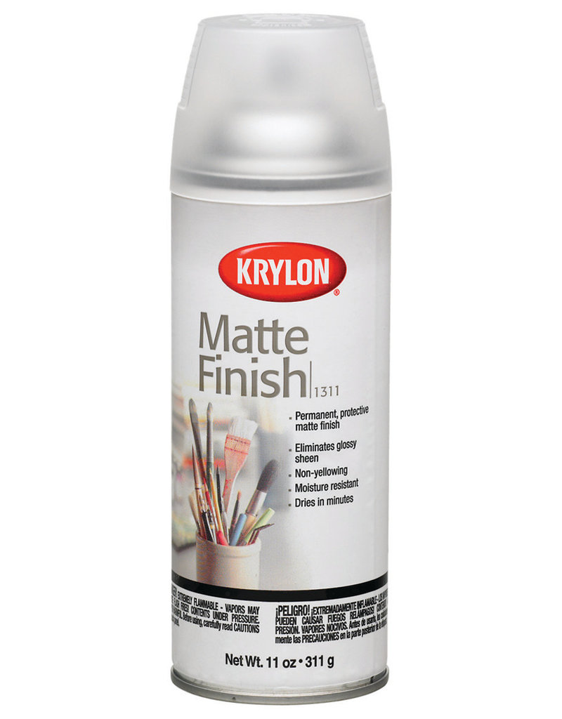 Krylon Krylon Artist & Clear Coatings Matte Finish