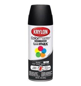 Krylon Krylon Colormaster Flat Black