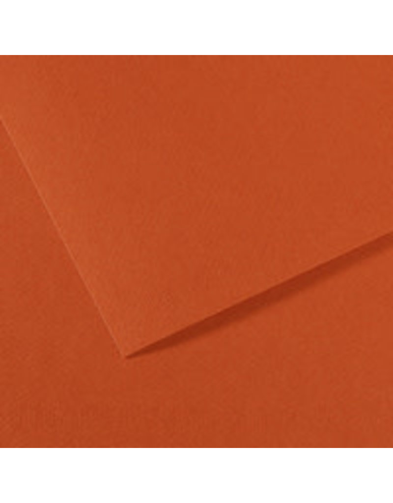 Canson Mi-Teintes Paper Sheets, 8-1/2'' x 11'', Red Earth