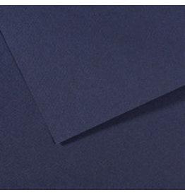 Canson Mi-Teintes Paper Sheets, 8-1/2'' x 11'', Indigo Blue