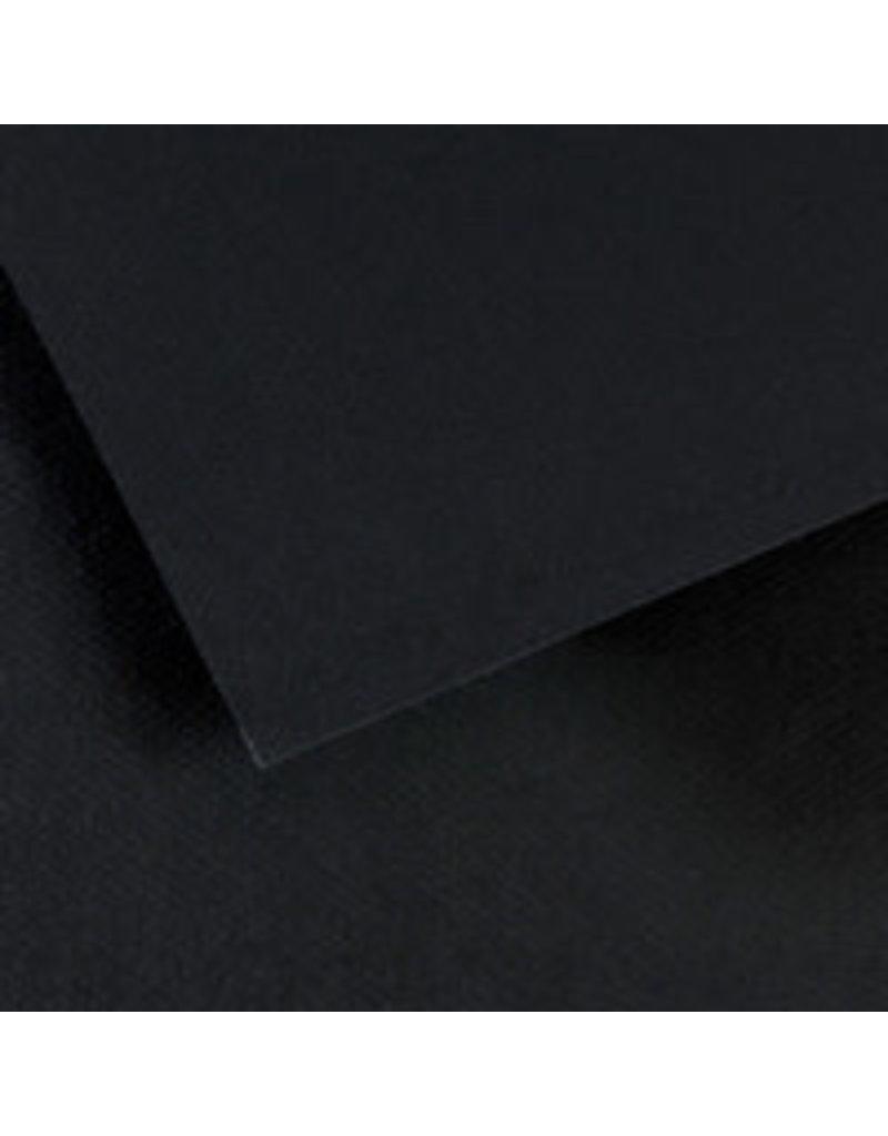 Canson Mi-Teintes Paper Sheets, 8-1/2'' x 11'', Stygian Black