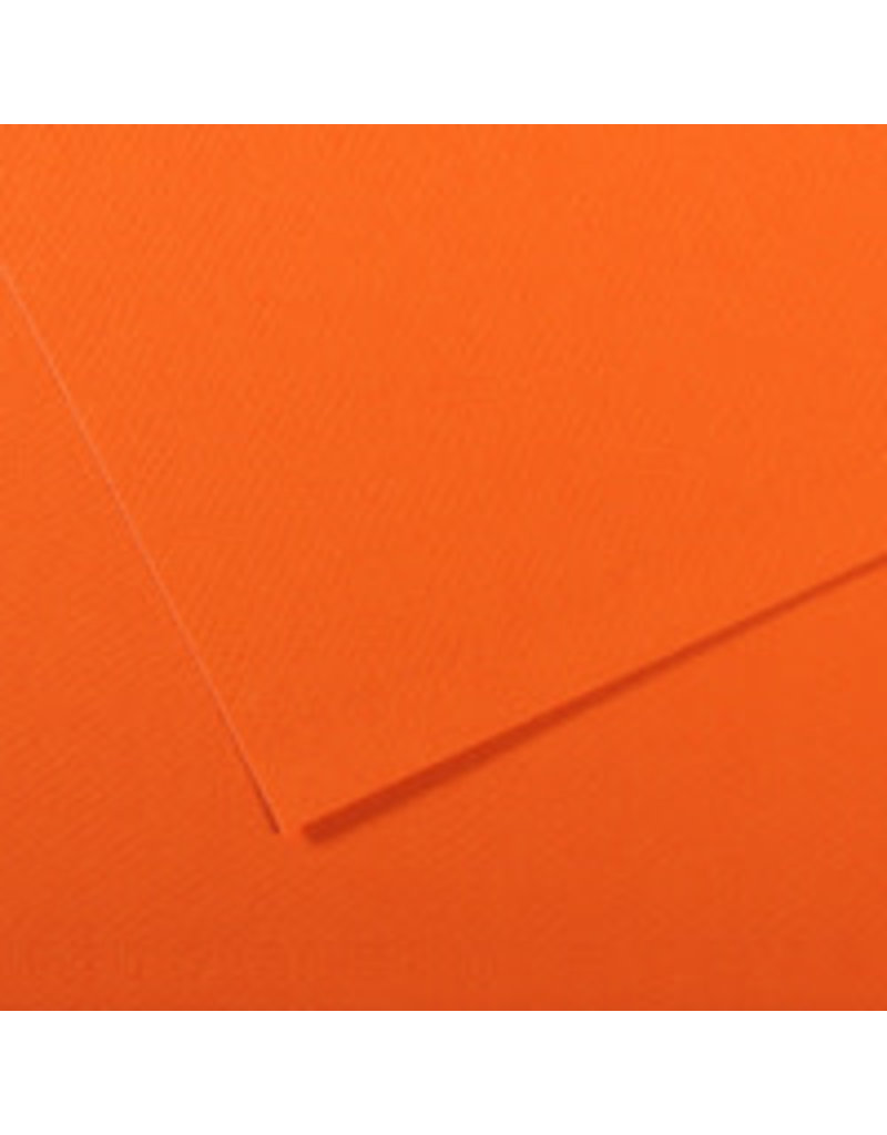 Canson Mi-Teintes Paper Sheets, 19'' x 25'', Orange