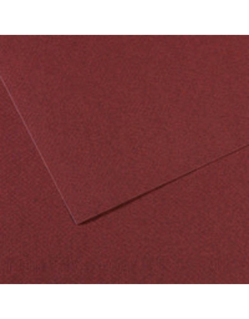 "Canson Mi-Teintes Paper Sheets, 8-1/2"" x 11"", Burgundy"
