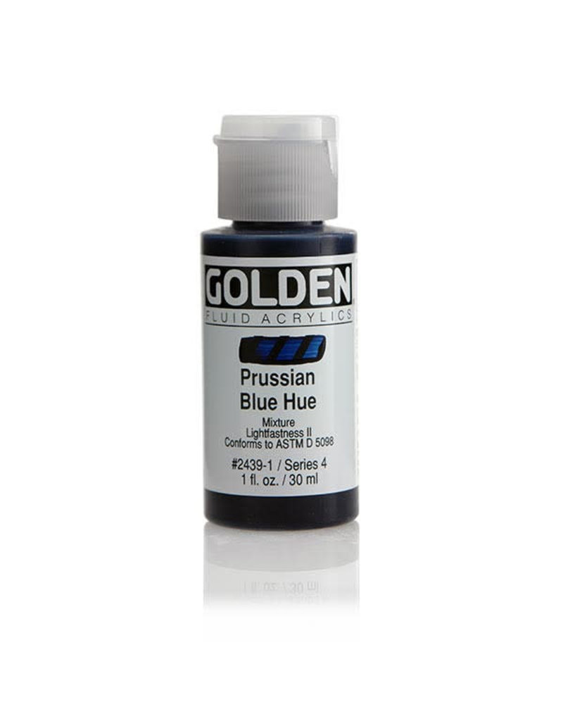 Golden Fluid Hist. Prussian Blue Hue  1Oz