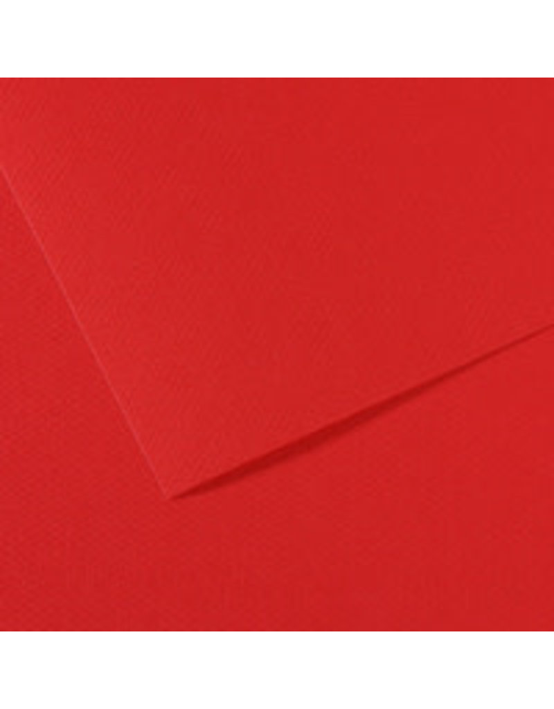 Canson Mi-Teintes Paper Sheets, 19'' x 25'', Red