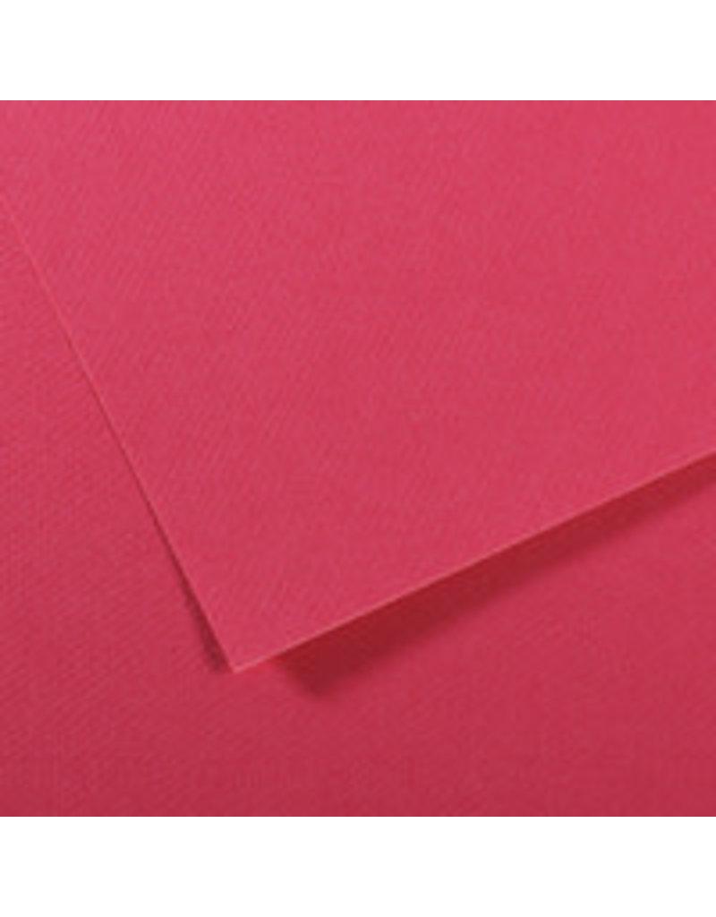"Canson Mi-Teintes Paper Sheets, 19"" x 25"", Raspberry"