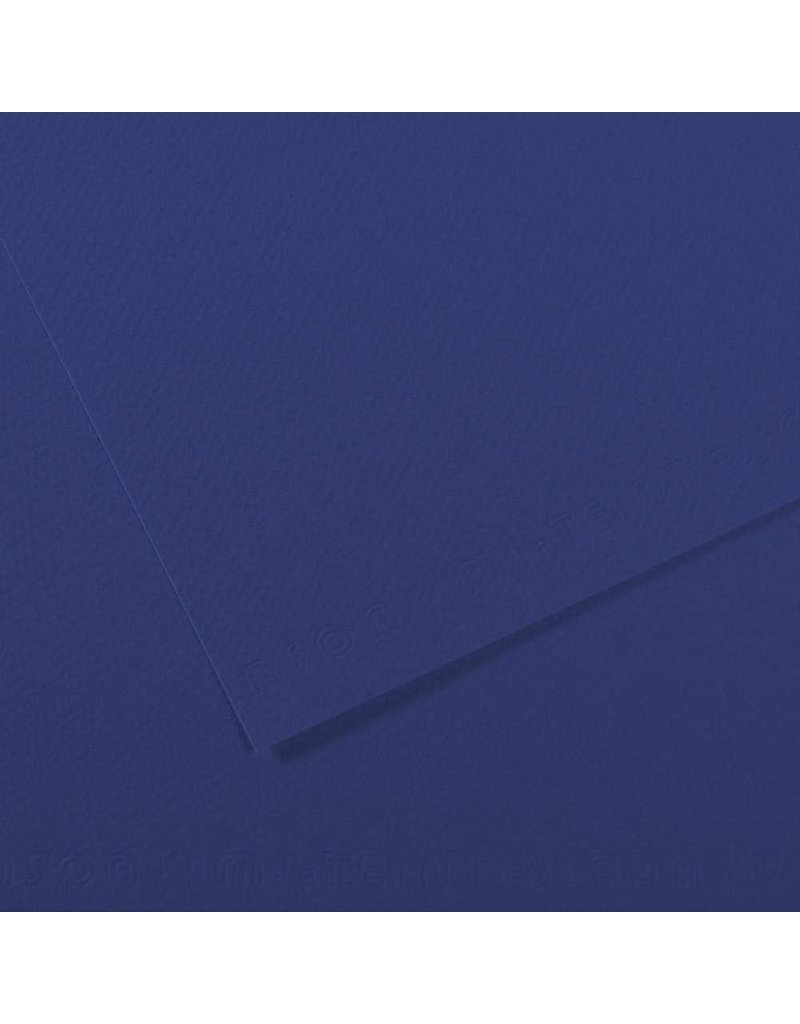Canson Mi-Teintes Paper Sheets, 8-1/2'' x 11'', Royal Blue