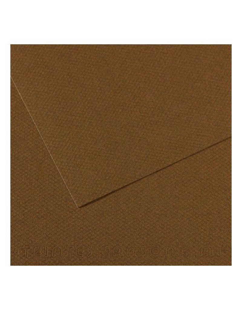 Canson Mi-Teintes Paper Sheets, 8-1/2'' x 11'', Tobacco