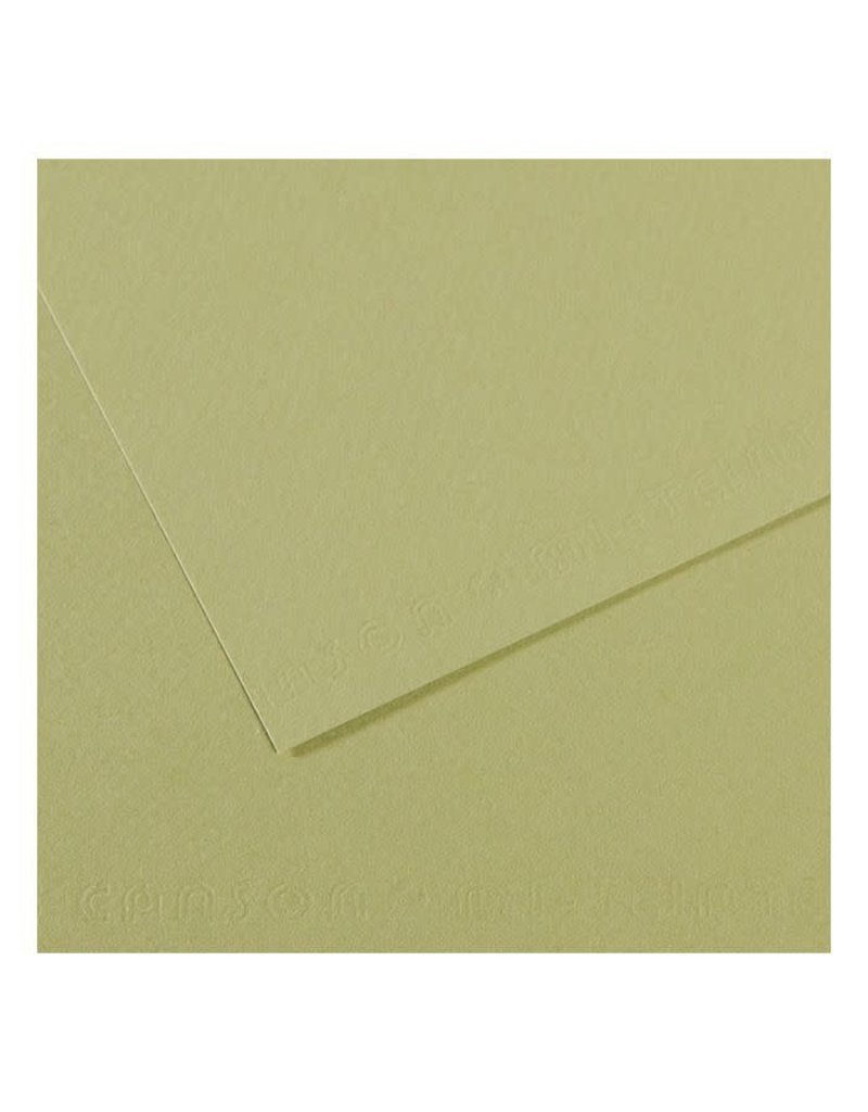 "Canson Mi-Teintes Paper Sheets, 8-1/2"" x 11"", Light Green"