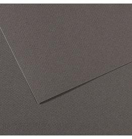 Canson Mi-Teintes Paper Sheets, 8-1/2'' x 11'', Dark Gray