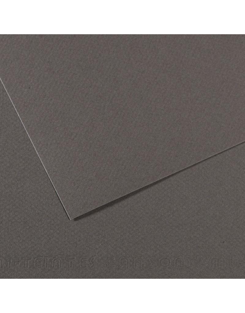 "Canson Mi-Teintes Paper Sheets, 8-1/2"" x 11"", Dark Gray"