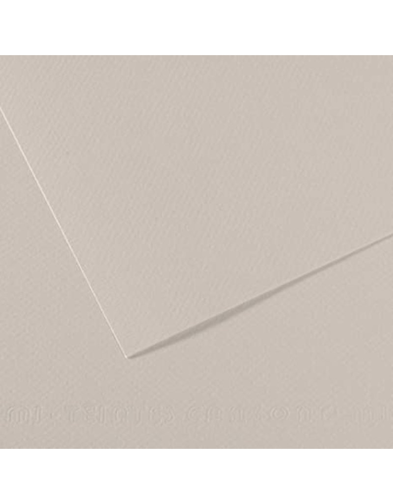 Canson Mi-Teintes Paper Sheets, 8-1/2'' x 11'', Pearl Gray