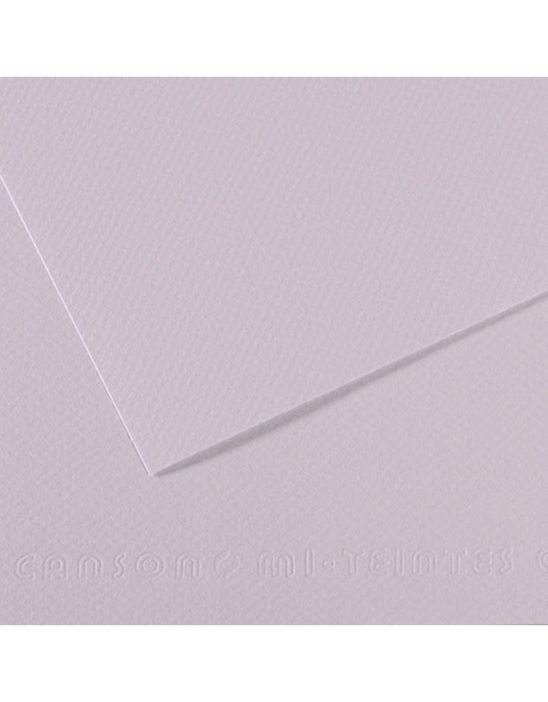 "Canson Mi-Teintes Paper Sheets, 8-1/2"" x 11"", Lilac"