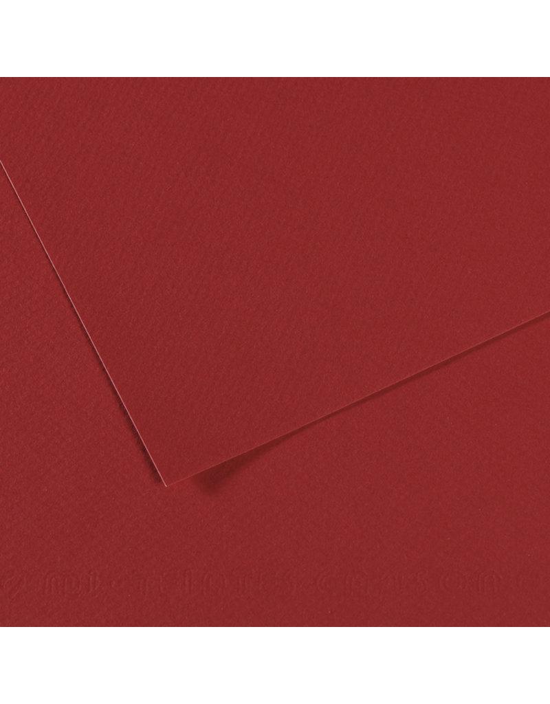 Canson Mi-Teintes Paper Sheets, 19'' x 25'', Bordeaux