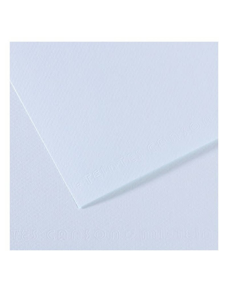 "Canson Mi-Teintes Paper Sheets, 8-1/2"" x 11"", Azure"