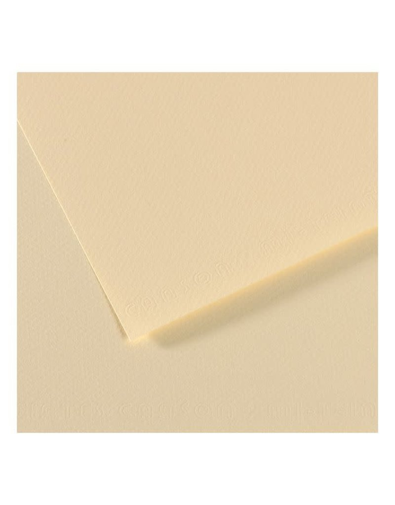Canson Mi-Teintes Paper Sheets, 8-1/2'' x 11'', Pale Yellow