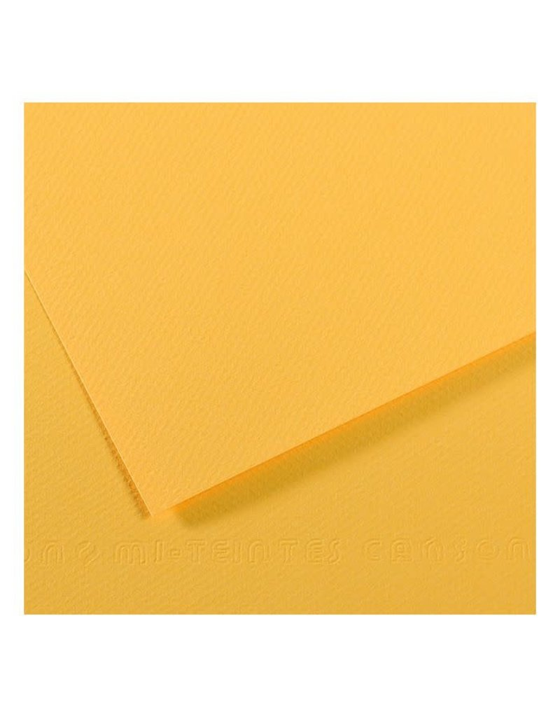 Canson Mi-Teintes Paper Sheets, 8-1/2'' x 11'', Canary