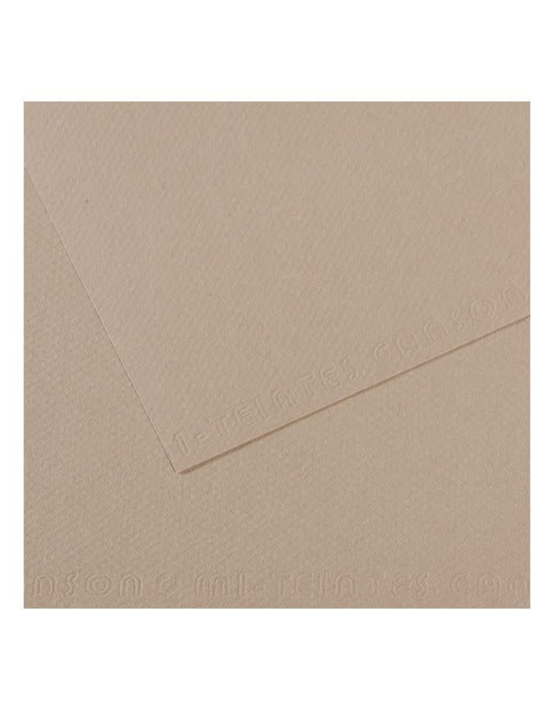 Canson Mi-Teintes Paper Sheets, 8-1/2'' x 11'', Flannel Gray