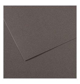 Canson Mi-Teintes Paper Sheets, 8-1/2'' x 11'', Flat Gray