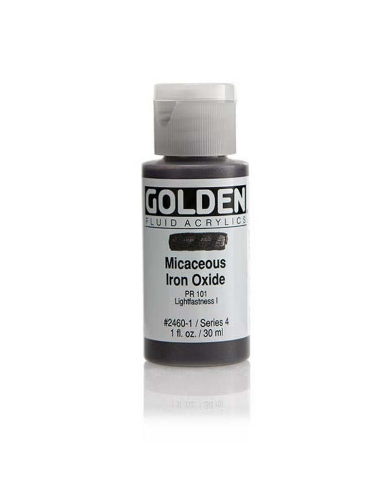 Golden Fluid Irid. Micaceous Iron Oxide  1Oz