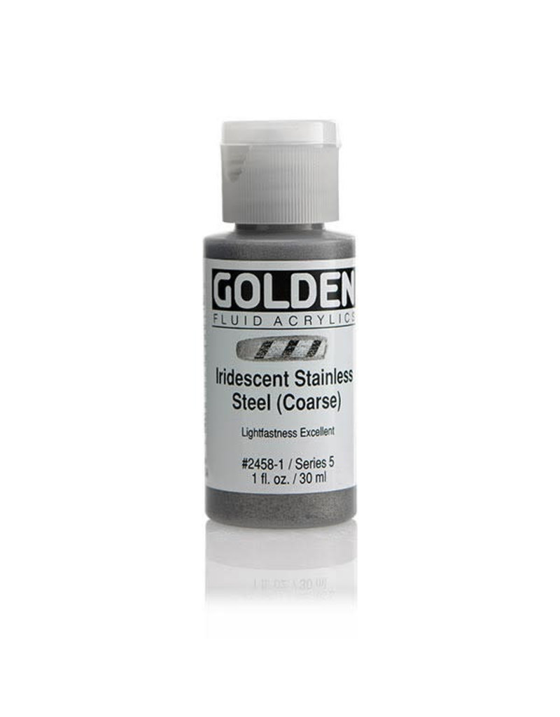 Golden Fluid Irid. Stainless Steel (C)  1Oz