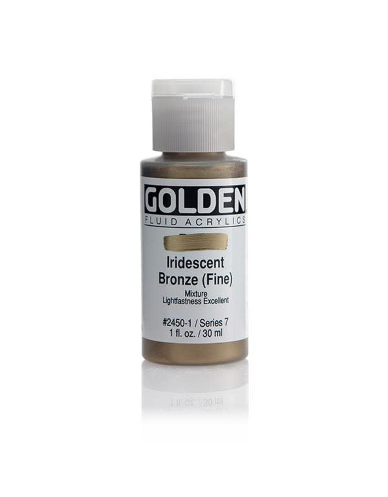 Golden Fluid Iridescent Bronze (Fine)  1Oz