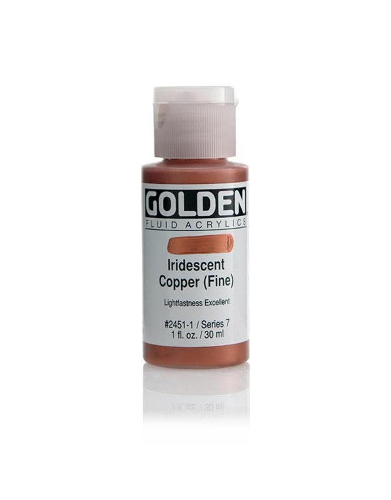 Golden Fluid Iridescent Copper (Fine)  1Oz
