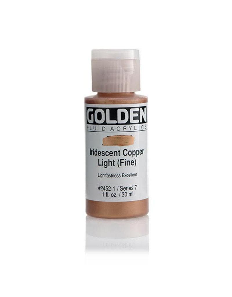 Golden Fluid Iridescent Copper Lt.(Fine  1Oz