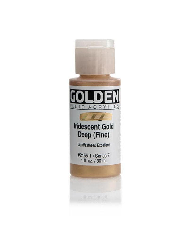 Golden Fluid Iridescent Gold Deep (Fine  1Oz