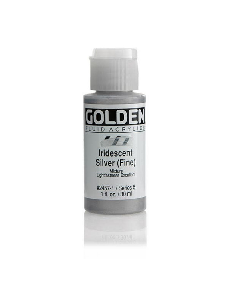 Golden Fluid Iridescent Silver (Fine)  1Oz