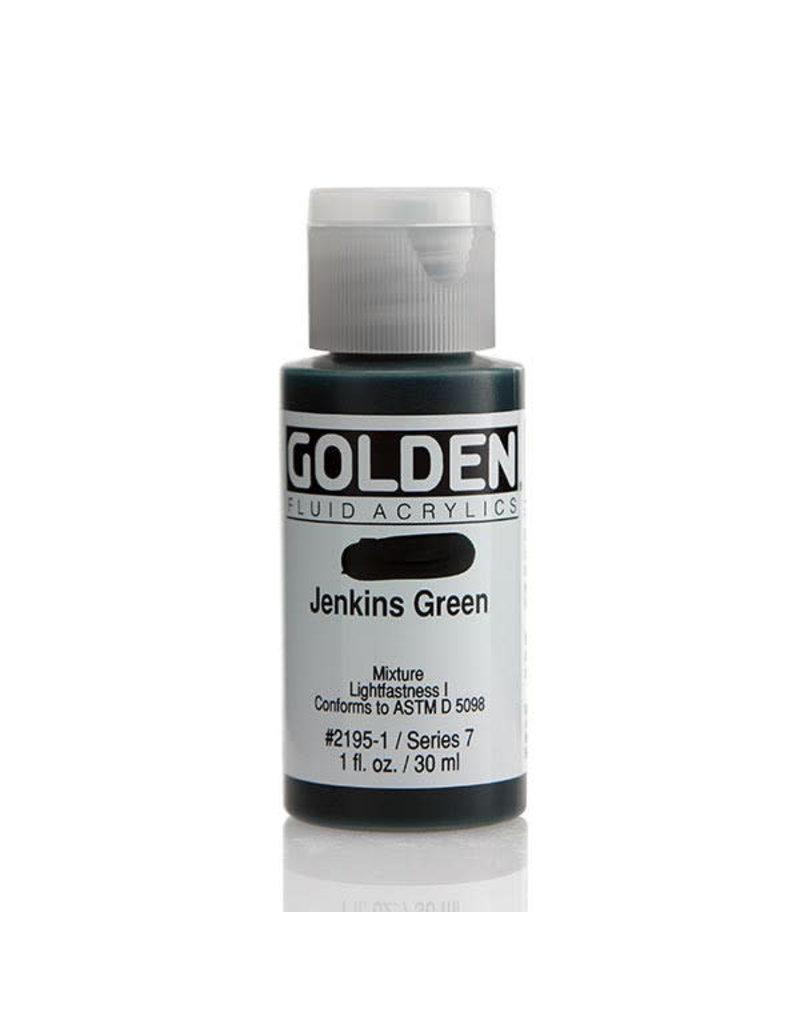 Golden Fluid Jenkins Green  1Oz