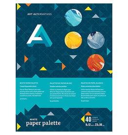 Art Alternatives Paper Palette White 9X12