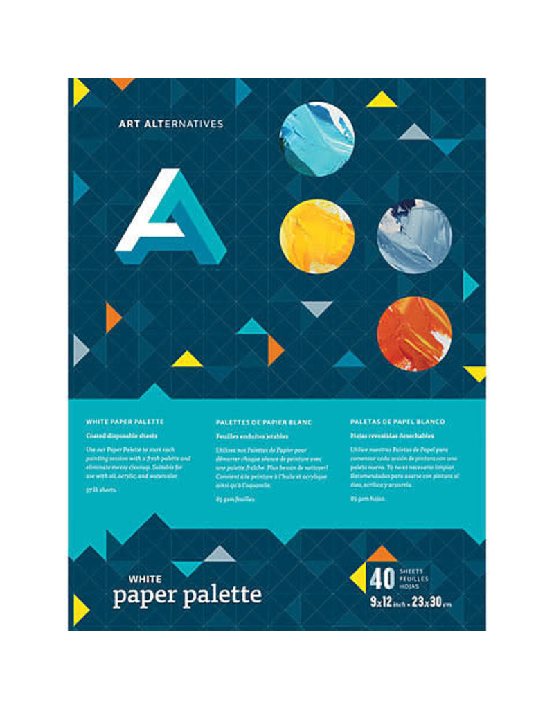 Art Alternatives Paper Palette White 12X16
