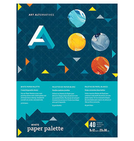Art Alternatives Paper Palette White 16X20