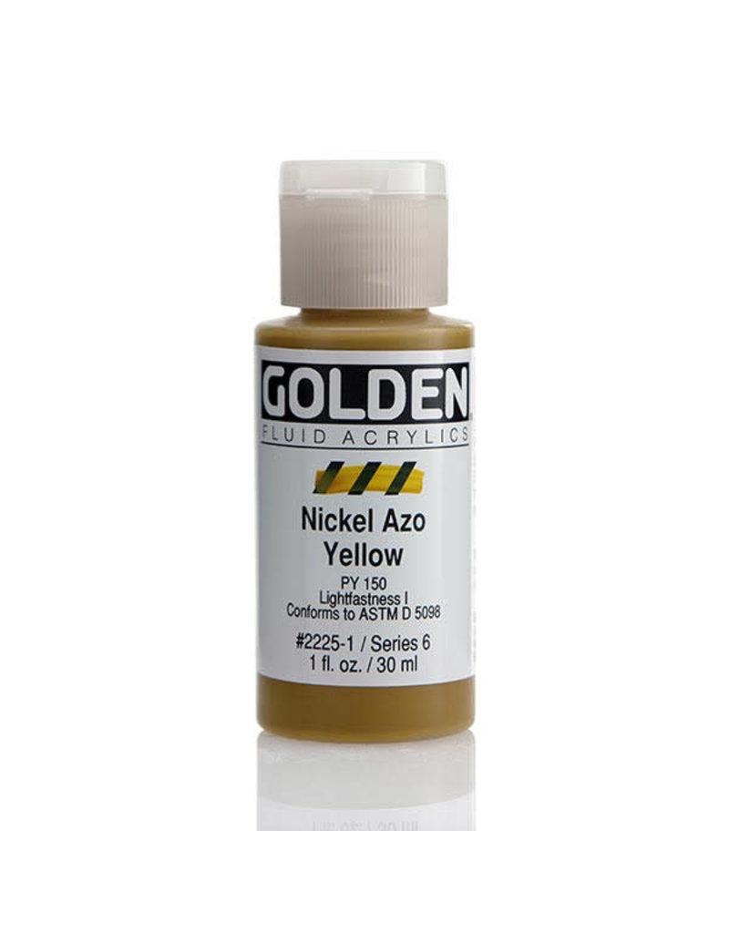 Golden Fluid Nickel Azo Yellow  1Oz