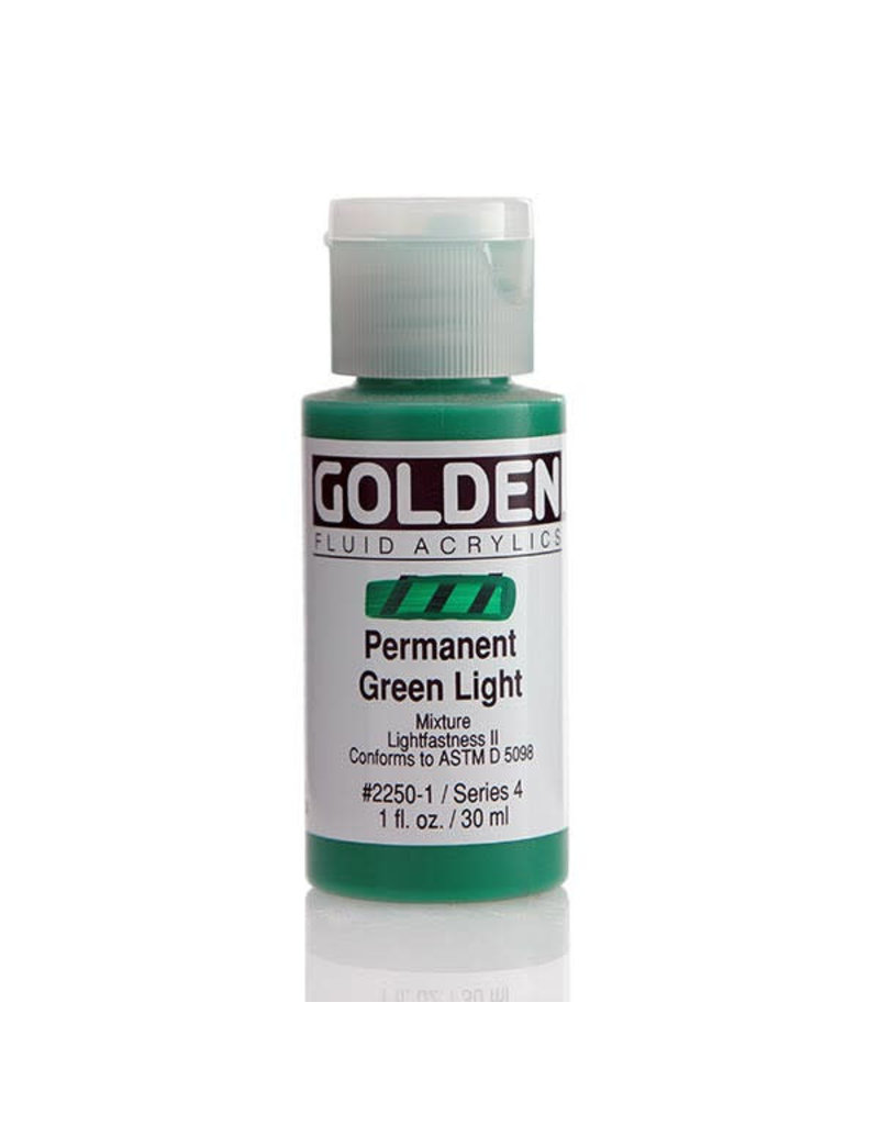 Golden Fluid Permanent Green Lt.  1Oz