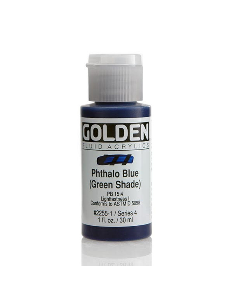 Golden Fluid Phthalo Blue /G.S.  1Oz