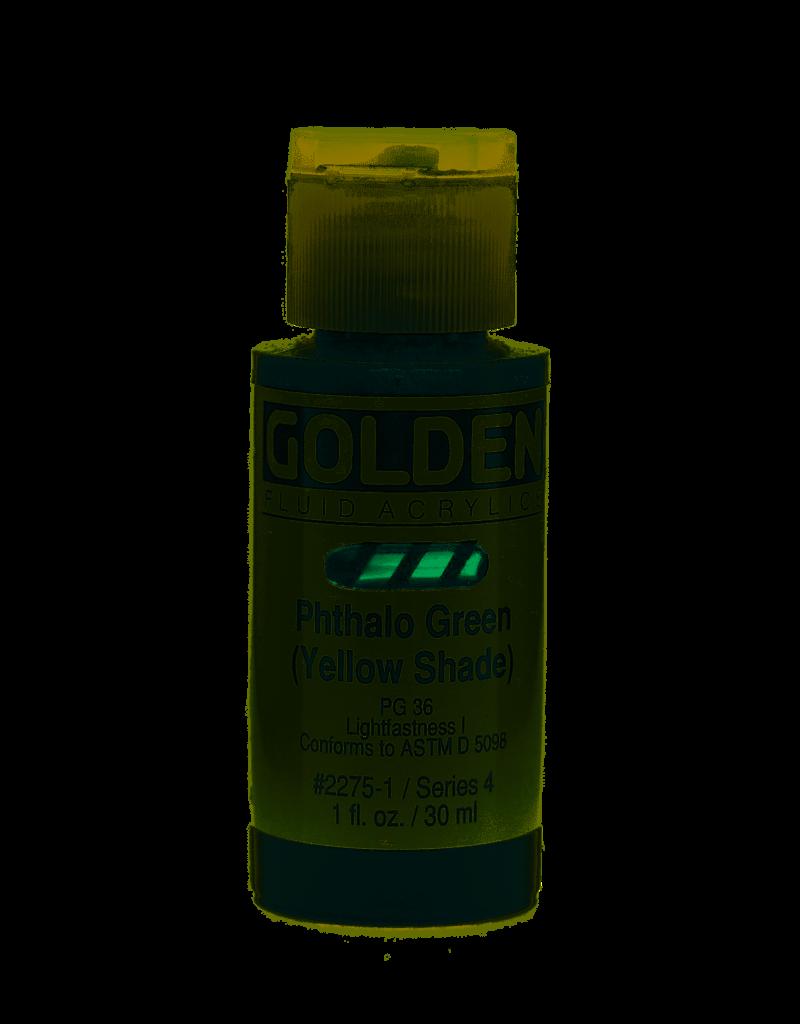 Golden Fluid Phthalo Green /B.S.  1Oz