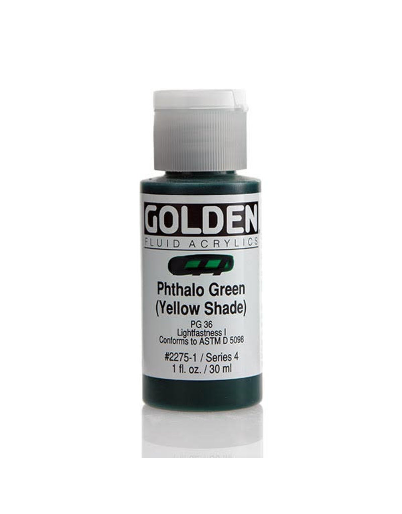Golden Fluid Phthalo Green /Y.S.  1Oz