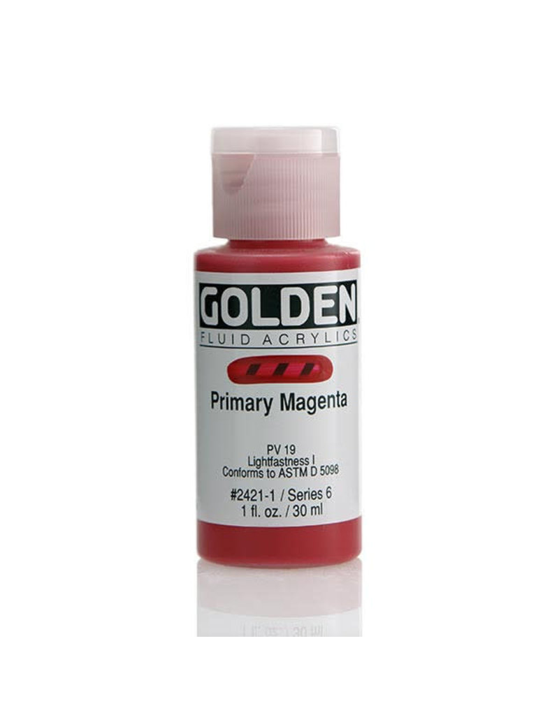 Golden Fluid Primary Magenta  1Oz