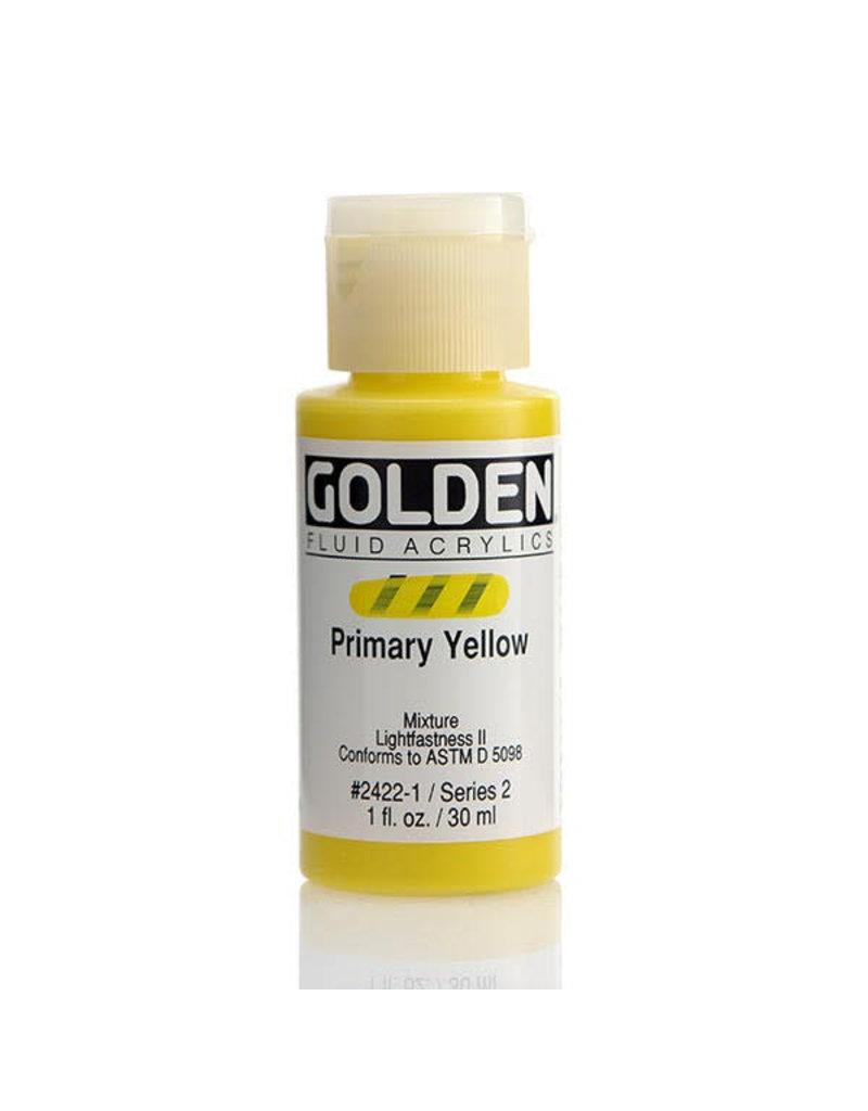 Golden Fluid Primary Yellow  1Oz