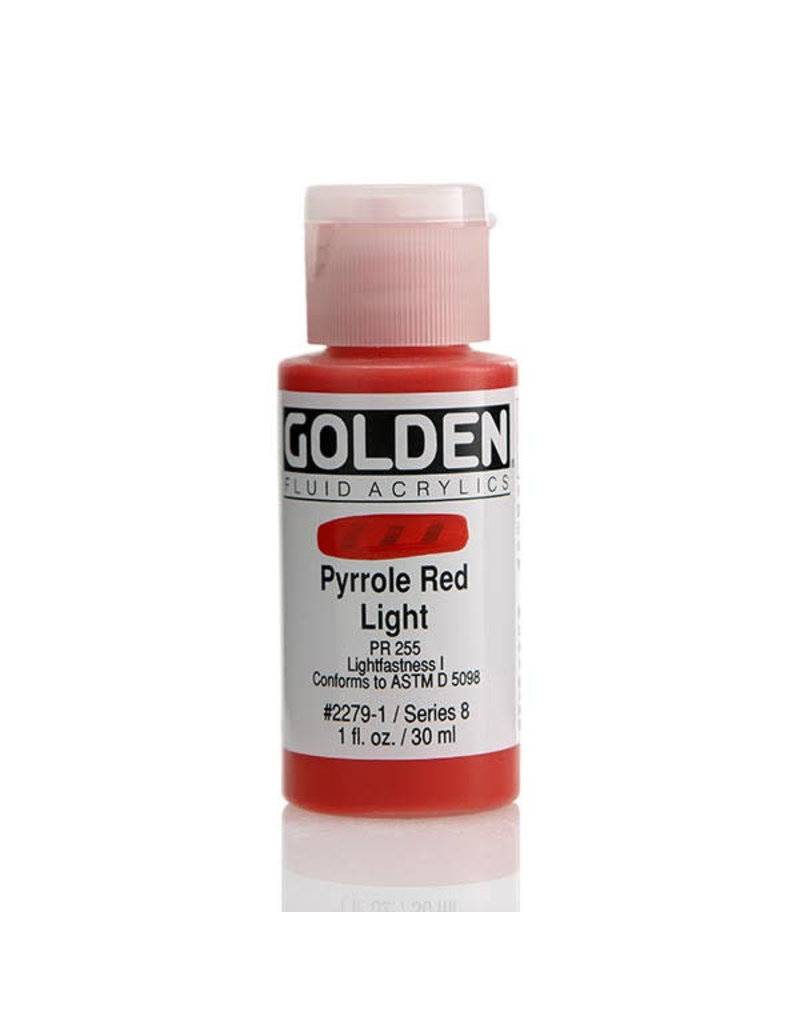 Golden Fluid Pyrrole Red Lt.  1Oz