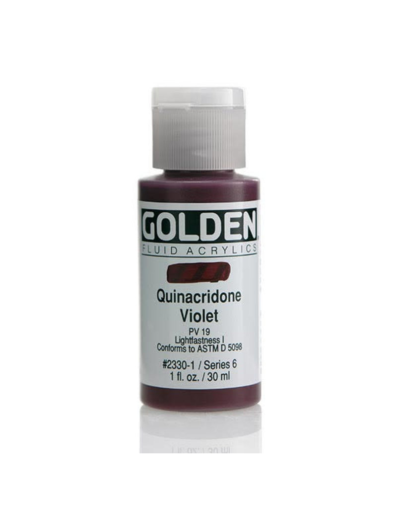 Golden Fluid Quin. Violet  1Oz