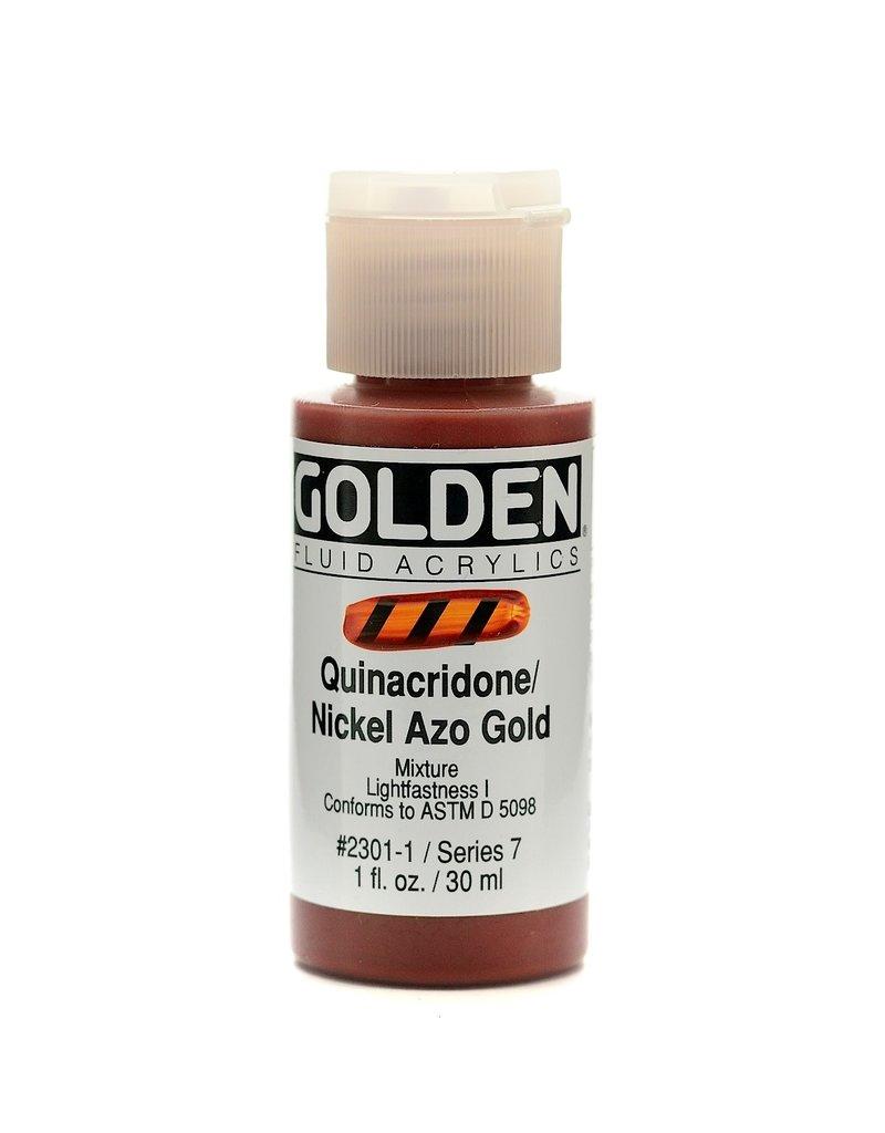 Golden Fluid Quin/Nickel Azo Gold  1Oz