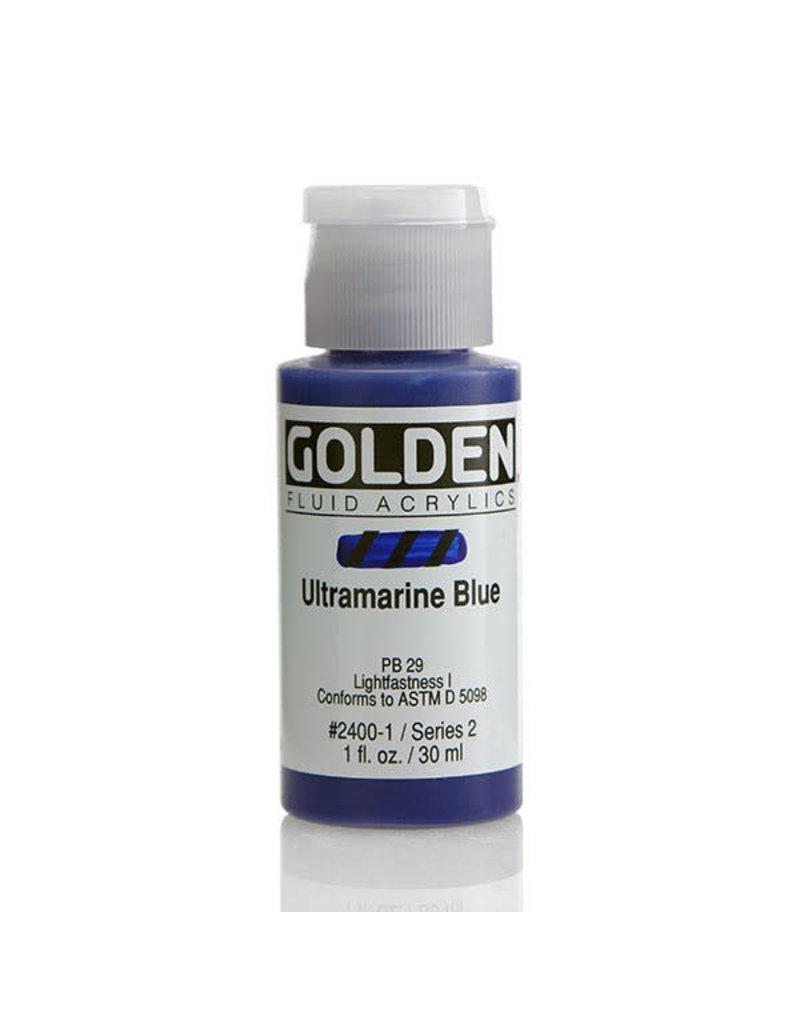 Golden Fluid Ultramarine Blue  1oz