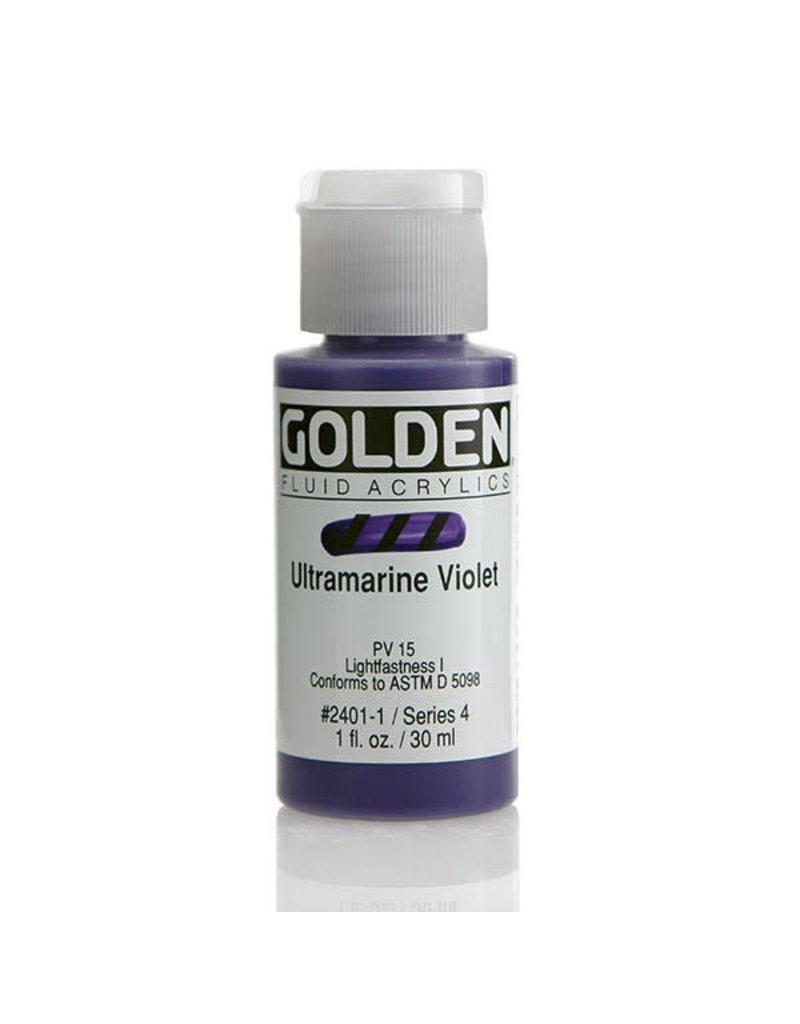 Golden Fluid Ultramarine Violet  1oz