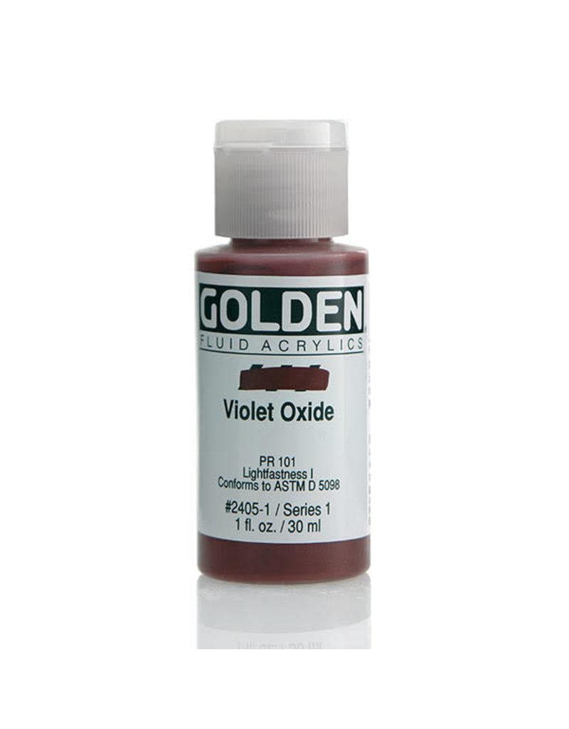 Golden Fluid Violet Oxide  1oz
