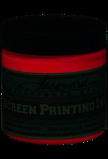 Jacquard Pro Screen Print Ink 4Oz Op Red